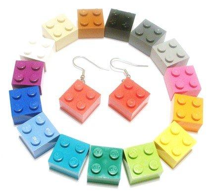 Lego Dangle Earrings
