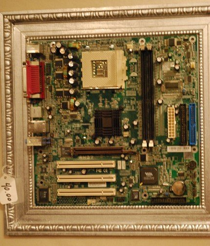 Computer Motherboard Wall Picture