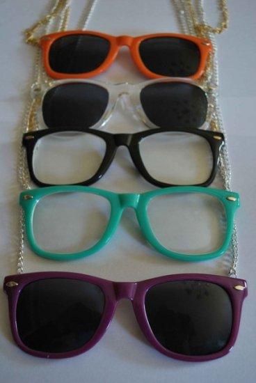 Plastic Eyeglasses Necklace