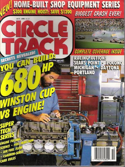 CIRCLE TRACK... OCTOBER 1990 .. CAR MAGAZINE
