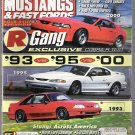 MUSTANGS AND FAST FORDS.. SEPTEMBER 2000 ISSUE