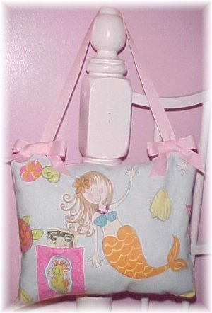 Mermaid & Friends Tooth Fariy pillow