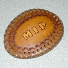 Personalized Belt Buckle with Lacing
