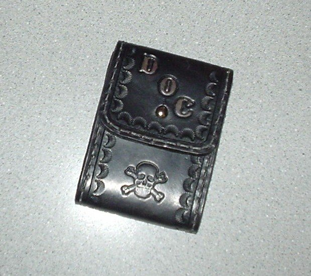 Credit Card Leather Case