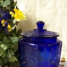 Cobalt Blue Mayfair Cookie Jar