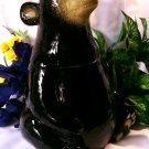 Black Bear Cookie Jar