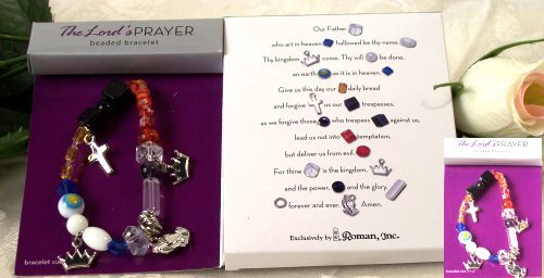 "Roman ""The LORD's Prayer"" Bracelet - Adult"