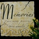 "Inspiration Plaque ""Memories"