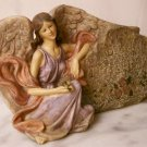 "Angel Leaning On Rock ""Bless This Home"