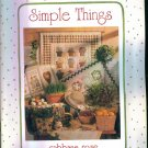 Simple Things ~ Cabbage Rose ~ Quilting Pattern Book ~ Barbara Brandeburg