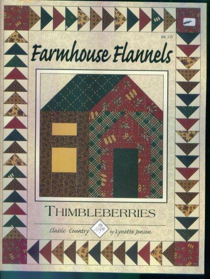 Thimbleberries Farmhouse Fannels Book 135 Quilting Pattern Book Lynette Jensen locationO6