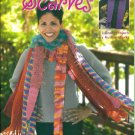 RUTHIE'S EASY CROCHETED SCARVES Ruthie Marks Leisure Arts Kooler Design Studio