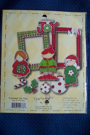 Scrapbooking DIE CUT Cuts FRAME UPS by MY MIND'S EYE Christmas Fun Pack FPS006