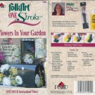 Plaid Folk Art Folkart One Stroke Flowers In Your Garden Donna Dewberry Video VHS location96