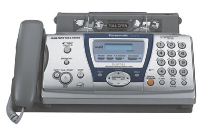 Panasonic KXFP145 Plain Paper Fax w/ Answering Machine