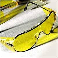 Night Vision Black-Rimmed Glasses