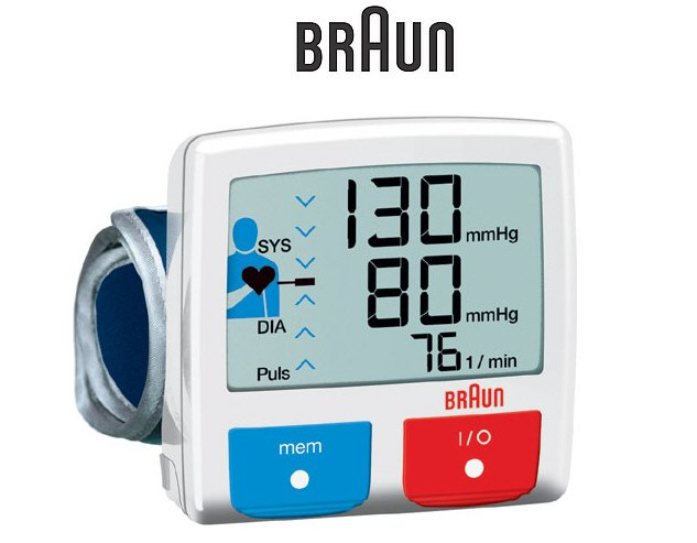 Braun BP2510 Wrist Blood Pressure Monitor