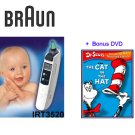 Braun Thermoscan Plus Ear Thermometer + Bonus DVD