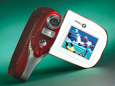 Motokata Mini Media Center - 3.1 Digital Camera, 128 MB MP3 Player & Video Camcorder in One