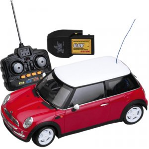 Mini Cooper Red - 27 MHz 1:12 Scale
