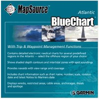 GARMIN MapSource Atlantic BlueChart CD-Rom