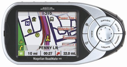Magellan 98066802 Roadmate 300 Touch Screen GPS Receiver