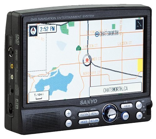 Sanyo NV-E7000 Portable GPS and Mobile DVD Entertainment System
