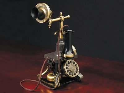 Museo 1884 Ericsson Trade Mark Telephone