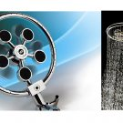 "Ikasumoto (8"") Rotary Spray Showerhead"