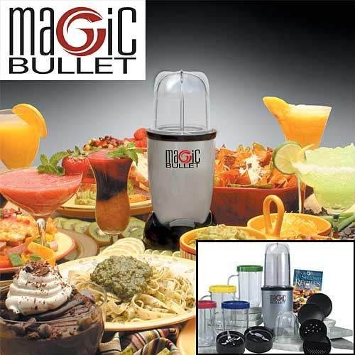Magic Bullet Food Processor 17 pieces Set As Seen on TV