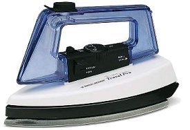 Black and Decker Steam Dry Travel Iron X10