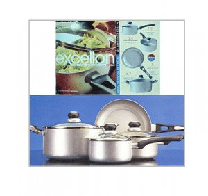 Excellon - Non Stick 7pc Cookware set