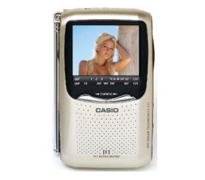 "Casio EV-570 2.5"" Active Matrix LCD Hand Held Color Personal TV"