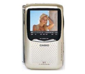 "Casio EV-570 2.5"" Active Matrix LCD Hand Held Color Personal TV"