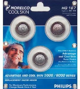 Norelco HQ167 Advantage/Cool Skin Head Set