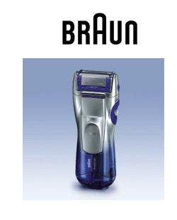 Braun 6680 FreeGlider Electric Shaver w/ Skin Conditioner Application & Pop-Up Trimmer