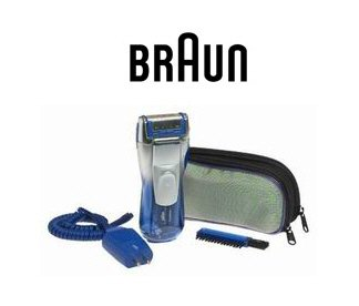 Braun 6690 FreeGlider Shaver Deluxe Edition w/ Skin Conditioner Application & Pop-Up Trimmer