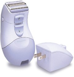 Panasonic ES208-A Ladies Rechargeable Wet/Dry Shaver