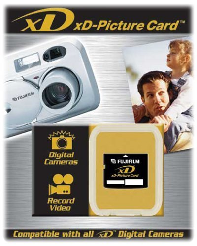 Fujifilm 1 GB xD-Picture Card Flash Media (Type M)