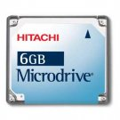 Hitachi Microdrive 6GB Digital Media Hard Disk Drive
