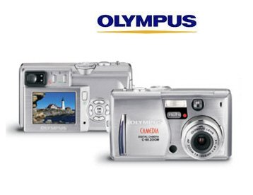 Olympus C60 6.1 Megapixel Digital Camera with 12 x Total Zoom