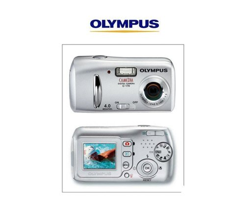 Olympus D-425 Point and Shoot Digital Camera, 4.0 Megapixel with 4x Digital Zoom