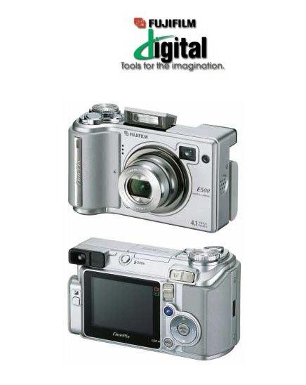 Fujifilm FinePix E510 - 5.2 Megapixels, 3.2x Optical/3x Digital Zoom Digital Camera
