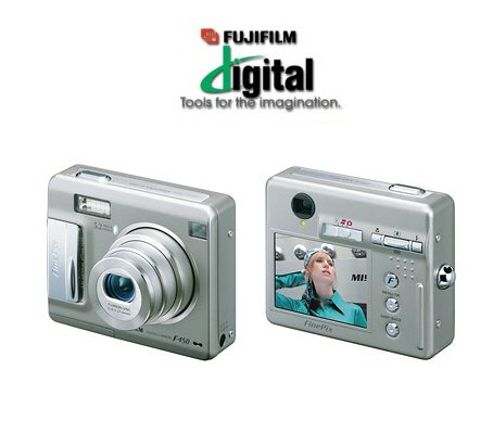 Fujifilm FinePix F440 - 4.1 Megapixel, 3.4x Optical/3.6x Digital Zoom, Digital Camera