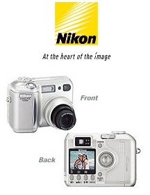 Nikon Coolpix 4300 - 4.0 Megapixels 3x Optical/4x Digital Zoom Digital Camera