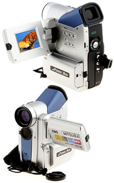 Mitsuba DV5 Plus - 4.1 Mega Pixels Digital Camera/Video Camcorder with 32 MB Memory Card & 4x Digita