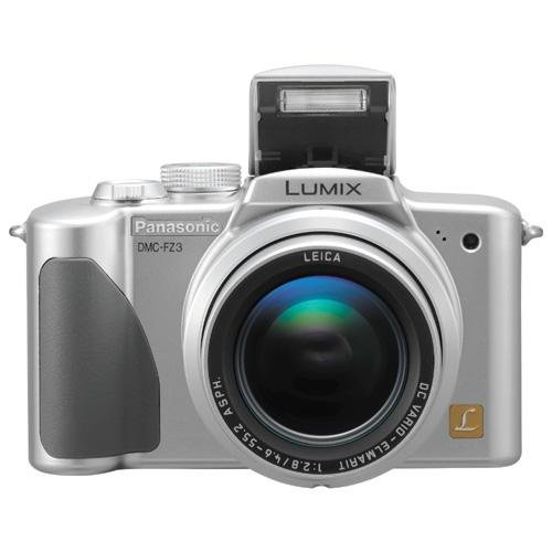 Panasonic DMC-FZ3 Lumix 3.0 Megapixel Compact Digital Camera with 12x Optical Zoom