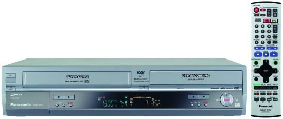 Panasonic DMRE-75  Progressive Scan DVD Player / VCR Combo w/ Twin TV Tuners & Dolby Digital / DTS O