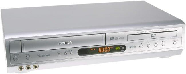 TOSHIBA SD-V291 DVD/VCR Combo MP-3(Silver)
