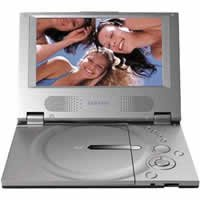 "Samsung  7"" Inch Widescreen Portable DVD/MP3/CD Player"